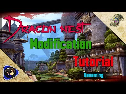 Dragon Nest Mods Tutorial - Weapon Simple Renaming~ SKN