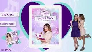 Violetta Secret Diary App - Convierte Tu Tablet En Un Diario Secreto