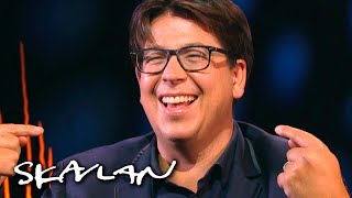 Comedian Michael McIntyre reveals «incredible» weight loss trick | SVT/TV 2/Skavlan