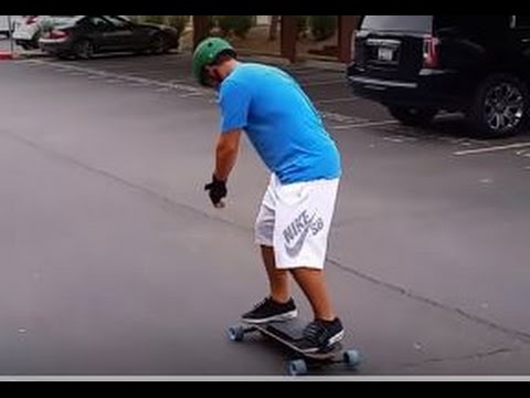First time on the Leif eSnowboard