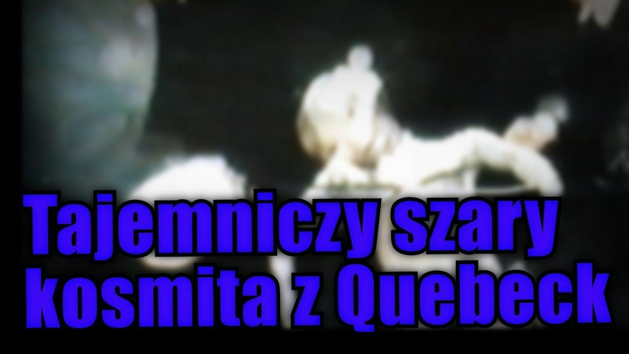 Obcy z Quebeck z 1992 roku może być przedstawicielem innej rasy albo podróżnikiem w czasie !