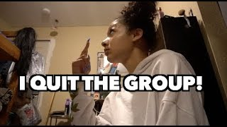 Emaza Quits the Group 🤕🙄 (Prank)!!!