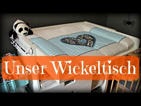 unser wickeltisch kommode vor dem baby ikea wickeln schwangerschaft erstausstattung youtube. Black Bedroom Furniture Sets. Home Design Ideas