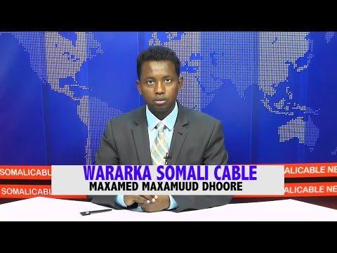WARARKA SOMALI CABLE MAXAMED MAXAMUUD DHOORE