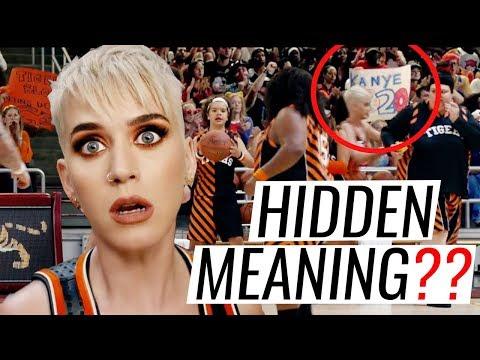 HIDDEN MEANINGS | KATY PERRY - SWISH SWISH ft.  Nicki Minaj  + Analysis