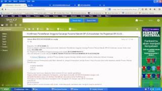 Cara Daftar Online BPJS 02 (cetak Virtual Account)
