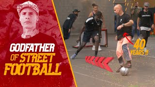 VISITING THE GODFATHER OF STREET FOOTBALL! + 40 years old @StreetKings