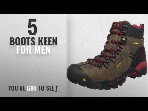Top 10 Boots Keen [ Winter 2018 ]: KEEN Utility Men's Pittsburgh Steel Toe Work Boot,Bison,10.5 D