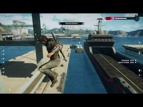Just Cause 4 - Espada Plunge: Open Wet Dock, Submerge The Bomb Rigged Vehicles 10/10 (2018)