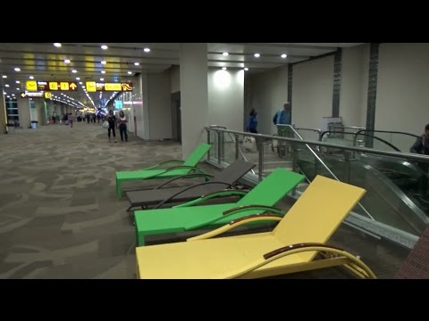 Airport with Sunbed /Bali Airport - (Indonesia 2017)