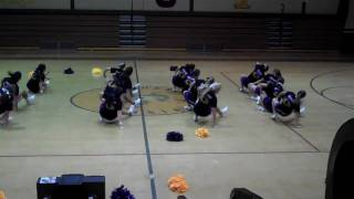 Cheerleading (fisher high school varsity home routine 2010-2011)