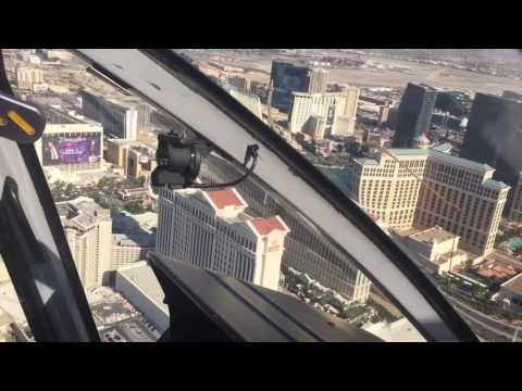 Vegas Strip Helicopter Landing - 13th May 2017
