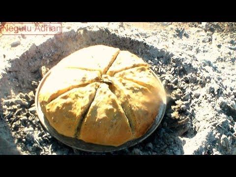 Inapoi la radacini ~Reteta Paine La Test ~ Ancient Romanian cooking method