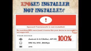 Gambar cover Xposed Installer Not Installed?  how to fixed it? lasted trips 2019