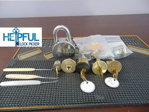 [115] Unboxing Locks Sent To Me By briarberrycove