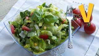 Low-fat Salad Dressing | The Vegan Corner