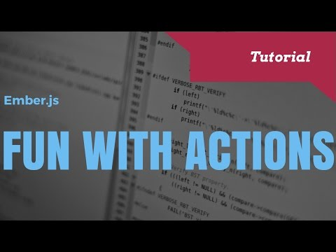 Learning Ember Actions  an Intermediate Guide