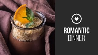 Dark Chocolate Mousse With Cointreau And Orange Confiture  Around the World: Romantic Dinner