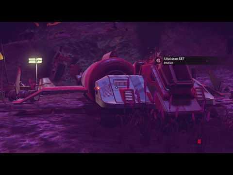 No Man's Sky: Crashed Ship Farm (easy rare materials)
