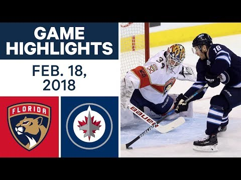 NHL Game Highlights | Panthers vs. Jets – Feb. 18, 2018