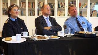 News - National Police Chief Sweden [Urdu] - MTA International Sweden Studios