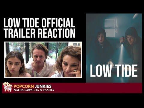 LOW TIDE (OFFICIAL TRAILER) - Nadia Sawalha & The Popcorn Junkies FAMILY REACTION