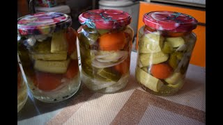 Овощное ассорти на зиму - простой рецепт