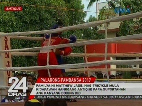 Pamilya ni Matthew Jade, nag-tricycle mula Kidapawan hanggang Antique
