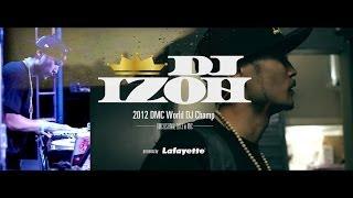 DJ IZOH in NYC for DMC US FINAL 2013