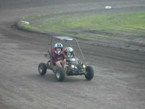Brody's first run at English Creek Speedway