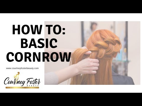 How to: Basic Cornrow