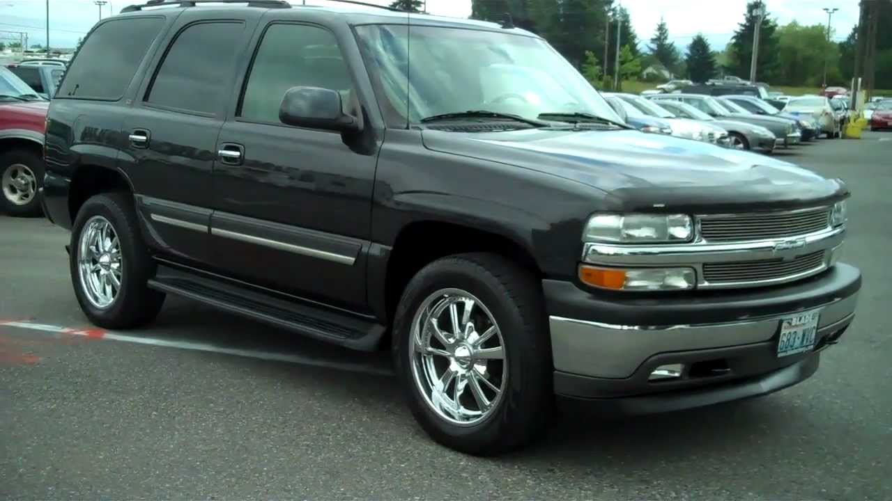 2006 Chevy Tahoe LT2 4x4 - YouTube