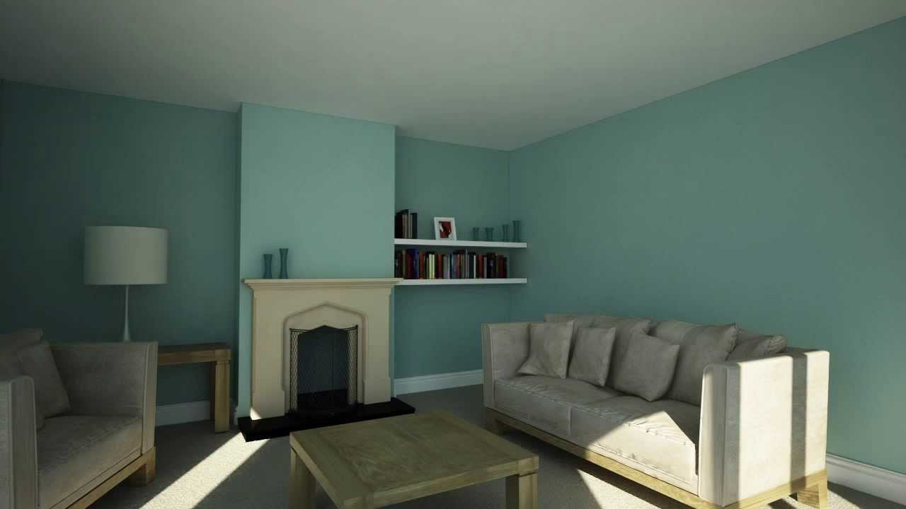 Colour schemes how to make a small room feel bigger youtube - Make a small space look bigger ideas ...