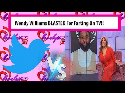 Twitter Drags Wendy Williams For FARTING On Air TWICE~ How You Pooting!