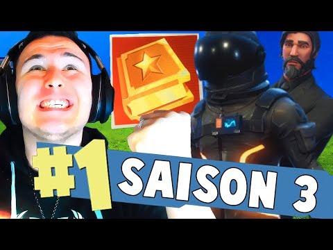 J'AI DÉBLOQUÉ TOUT LE PASS DE COMBAT SAISON 3 !!! ► Fortnite TOP #1