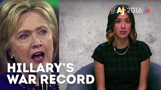 Why Hillary Clinton's War Record Matters