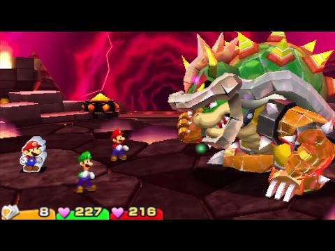 Mario and Luigi: Paper Jam - All Boss Battles