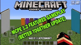 MCPE 1.2 FEATURES Concept (Gameplay) Trailer + APK DOWNLOAD