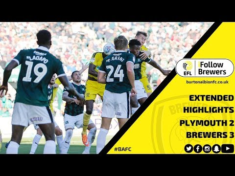 MATCH HIGHLIGHTS   Plymouth Argyle 2-3 Burton Albion
