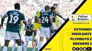 MATCH HIGHLIGHTS | Plymouth Argyle 2-3 Burton Albion