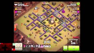 Clash of Clans - HollywoodShono 3 Stars a Strong Town Hall 9 and 3 Stars by Aex, Muthor, and Paige