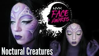 NYX FACE AWARDS FRANCE 2017 - NOCTURNAL CREATURE - SALOME  DE BAHIA