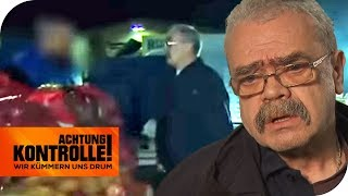 Handgreifliche Händler rasten aus: Polizeieinsatz auf Großmarkt! | Achtung Kontrolle | kabel eins