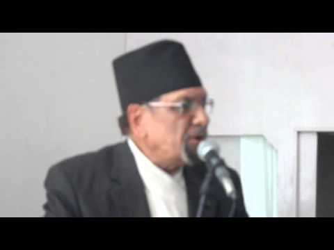 Minister of Finance Dr  Mahat