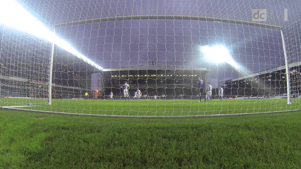 BLACKBURN ROVERS Vs DERBY COUNTY | GoPro | Patrick Bamford Equaliser