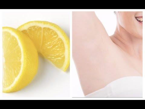 ماذا يحدث عند وضع شريحه من الليمون تحت الابط؟ لن تصدّقي !!الخدعه التجميليه التي لا يعلمها الا القليل