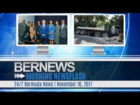 Bernews Morning Newsflash For Thursday November 16, 2017