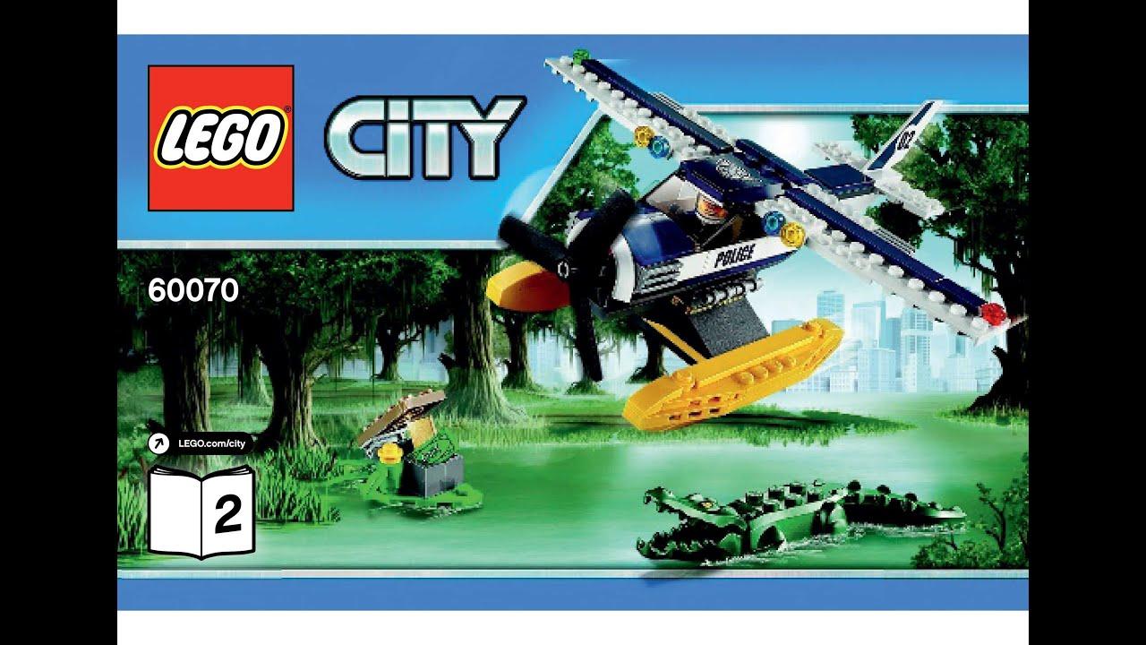 LEGO 60070 Water Plane Chase Instructions LEGO CITY 2015 ...