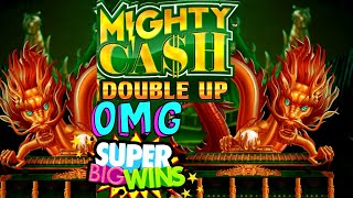 NEW!! Mighty Cash Double Up Slot Machine HUGE WIN | New BLOCK Bonanza Rio Slot BIG WIN