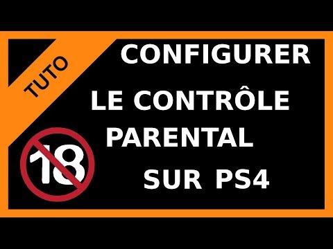 【TUTO】Gestion du contrôle parental sur PS4